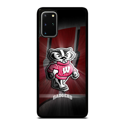 WISCONSIN BADGER LOGO Samsung S20 Plus Case