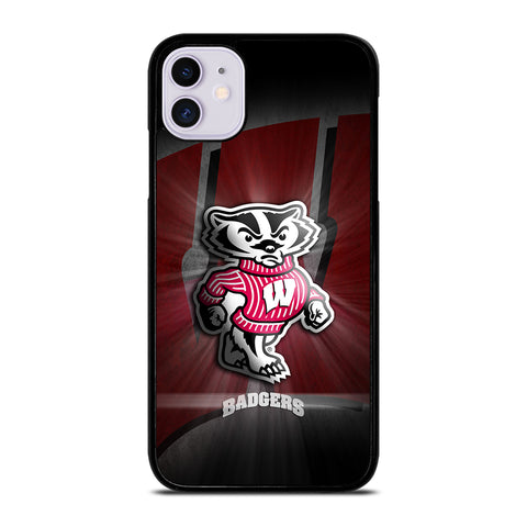 WISCONSIN BADGER LOGO iPhone 11 Case