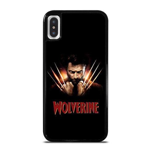 WOLVERINE MARVEL COMICS iPhone X / XS Case