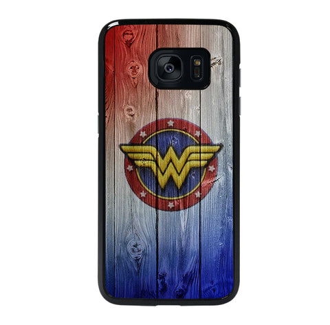 WONDER WOMAN LOGO NEW 4 Samsung S7 Edge Case