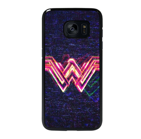WONDER WOMAN LOGO NEW 5 Samsung S7 Edge Case