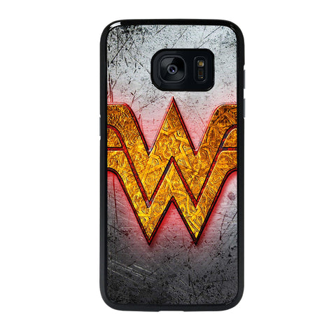 WONDER WOMAN LOGO NEW Samsung S7 Edge Case