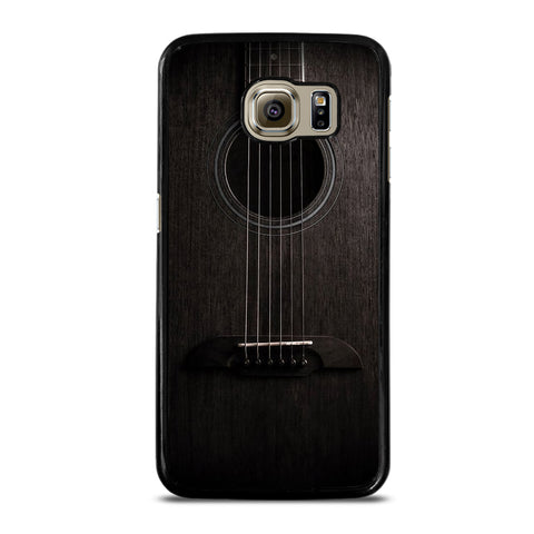 WOODEN ACCOUSTIC GUITAR Samsung S6 Case