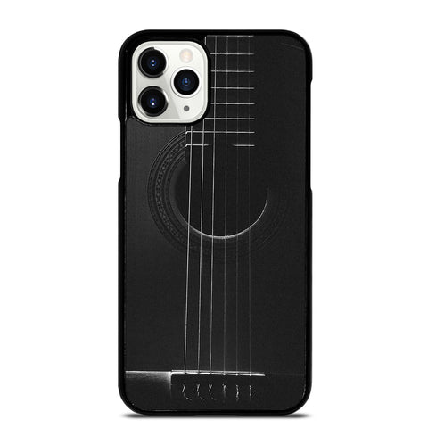WOODEN ACCOUSTIC GUITAR 2 iPhone 11 Pro Case