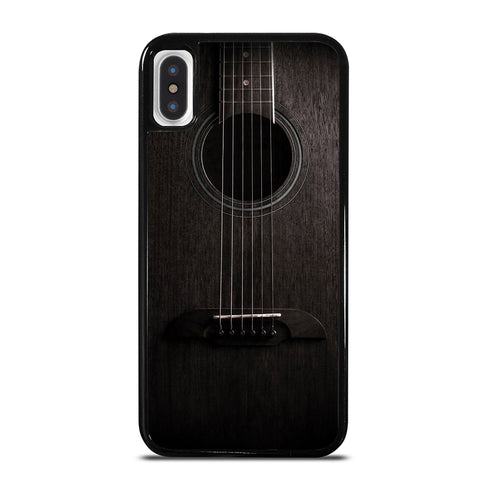 WOODEN ACCOUSTIC GUITAR iPhone X / XS Case