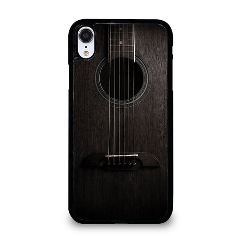 WOODEN ACCOUSTIC GUITAR iPhone XR Case