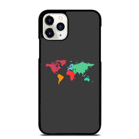 WORLD MAP iPhone 11 Pro Case