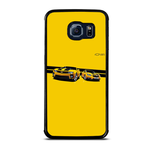 YELLOW CHEVY CAMARO Samsung S6 Edge Case