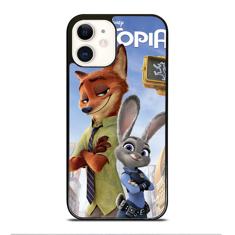 ZOOTOPIA NICK AND JUDY Disney iPhone 12 Case