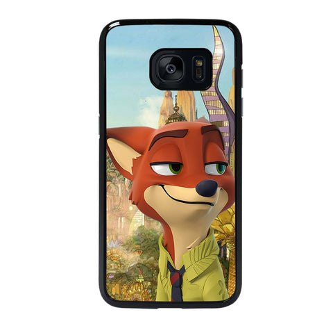 ZOOTOPIA NICK WILDE DISNEY 2 Samsung S7 Edge Case