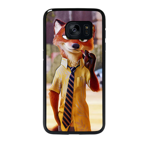 ZOOTOPIA NICK WILDE DISNEY 3 Samsung S7 Edge Case