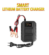 Load image into Gallery viewer, Car Battery Charger Automobile Motorcycle 12V 20A Intelligent LCD