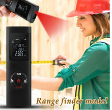 Load image into Gallery viewer, 40M Range Finder laser meter Ultra-Mini USB Charging Distance Meter