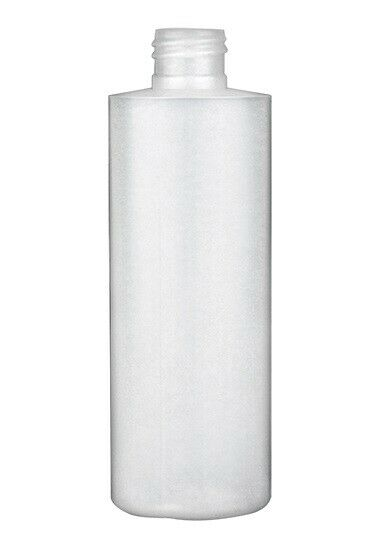 22 ea 5oz LDPE Cylinder Round Plastic Bottles Natural 24/410 no caps included