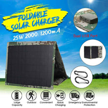 Load image into Gallery viewer, Solar Panel Charger,25W, 5V,Foldable