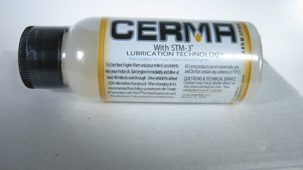 Cerma Large Diesel Engine Treatment w/STM-3,  6 - 2 oz.bottles