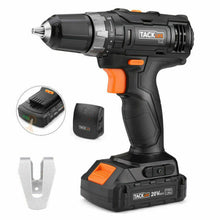 "Load image into Gallery viewer, Tacklife PCD06B 20V MAX Lithium-Ion 3/8"" Cordless Drill Driver 324 piece Kit"