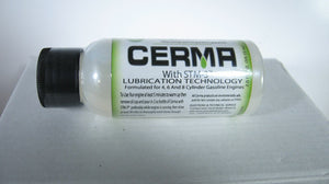 1 ea -2oz  CERMA ceramic gasoline engine treatment with STM-3
