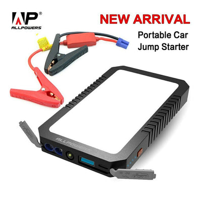 ALLPOWERS Power Bank Portable Car Jump Starter 400 Amps, 6000 Ma,12V,2 USB ports