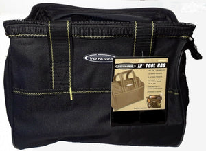 "12"" Tool Bag,  Durable Polyester,Multifunctional 21 pocket, w/zipper enclosure"