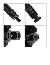 Load image into Gallery viewer, 2ea MC4 Solar Cable Connectors with Built in 15 or 20 amp fuse