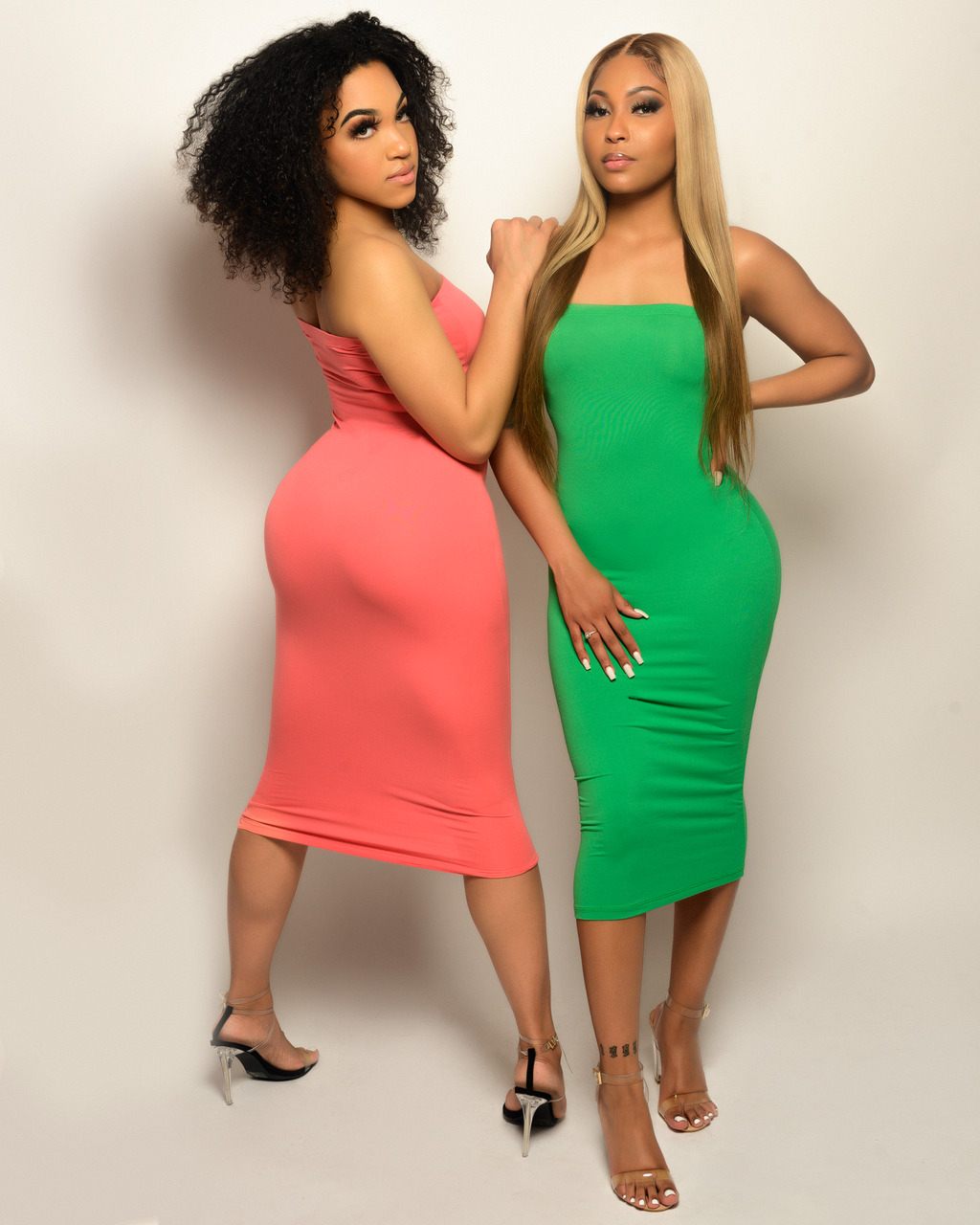Love Me Longer Sleeveless Bodycon Dress