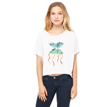 Meant to Fly Flowy Crop Top