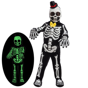Spooky Skelebones Costume Set