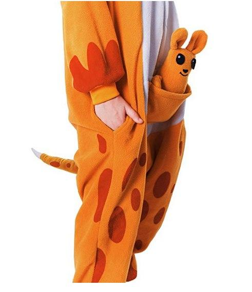 Kangaroo Animal Onesie Costume - Kids
