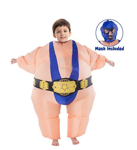 Wrestler Inflatable Costume - Child Size