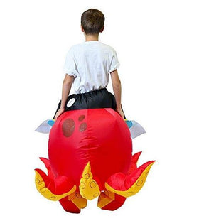 Inflatable Ride-On Octopus Costume - Child