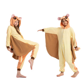 Squirrel Pajamas Onesie - Child