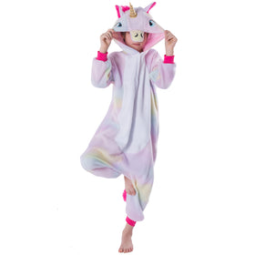Unicorn Animal Onesie Pajama Costume - Child