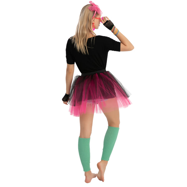 Adult Women 80's Costume with Shirt