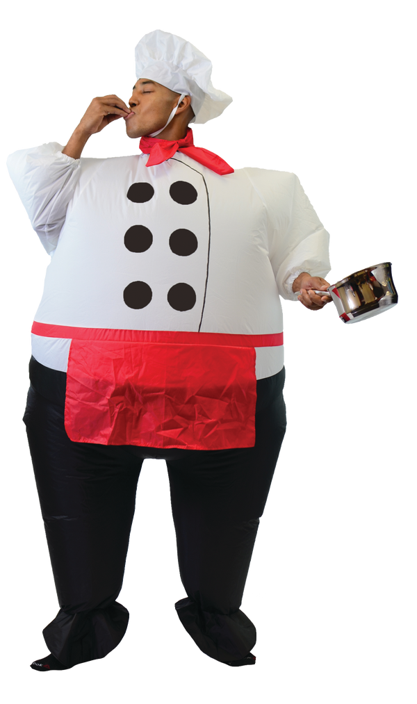 Inflatable Master Chef Costume - Adult