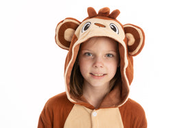 Monkey Pajamas Onesies - Child