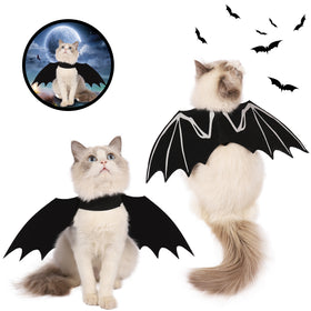 Bat Wings Cat Costume