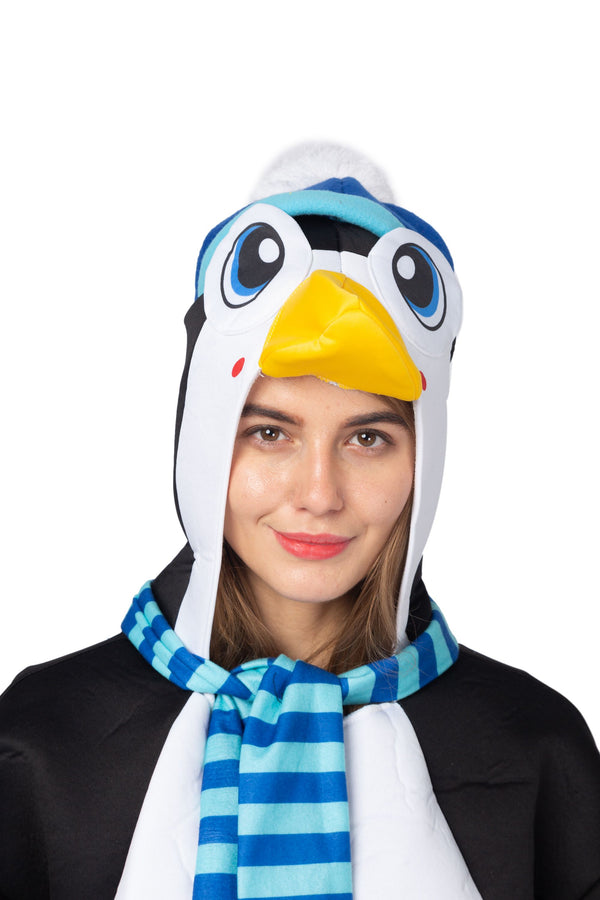 Penguin Animal Onesie Pajama Costume - Adult