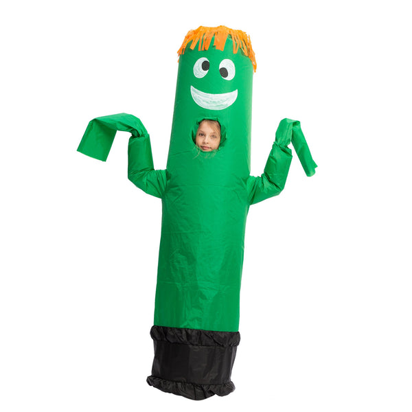 Inflatable Costume Tube Dancer Wacky Waiving Arm Flailing Halloween Costume Child Size - Spooktacular Creations