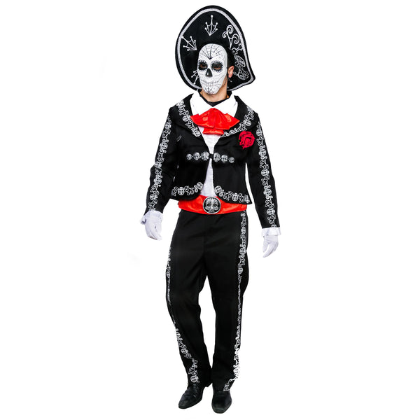 Men's Day The Dead Costume Set - Adult