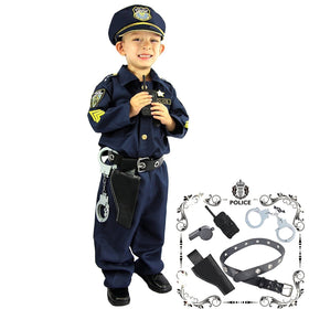 Police Officer Costume and Role Play Kit