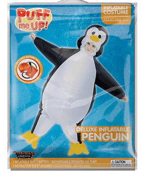 Inflatable Penguin Costume - Child