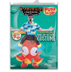 Inflatable Ride-On Octopus Costume - Adult