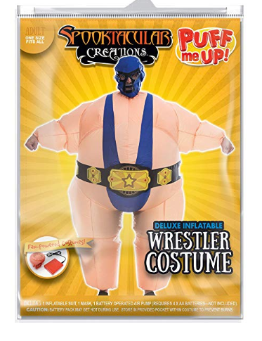 Inflatable Wrestler  Costume - Adult