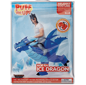 Inflatable  Ride-On Ice Dragon Costume