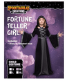 Hooded Robe Costume for Fortune Teller, Gypsy, Princess Girls Halloween Role-Playing Party - Spooktacular Creations