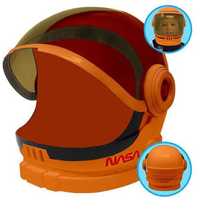 Orange Astronaut Helmet with Movable Visor - Child