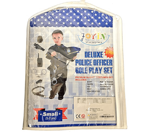 Police Officer Costume and Role Play Kit - Spooktacular Creations