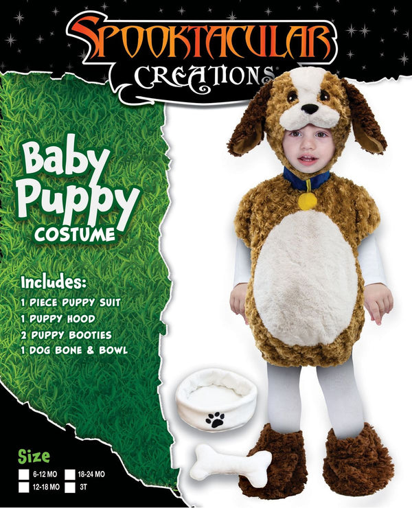 Baby Cuddly Puppy Costume Set