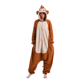 Monkey Animal Onesies Costume - Adult